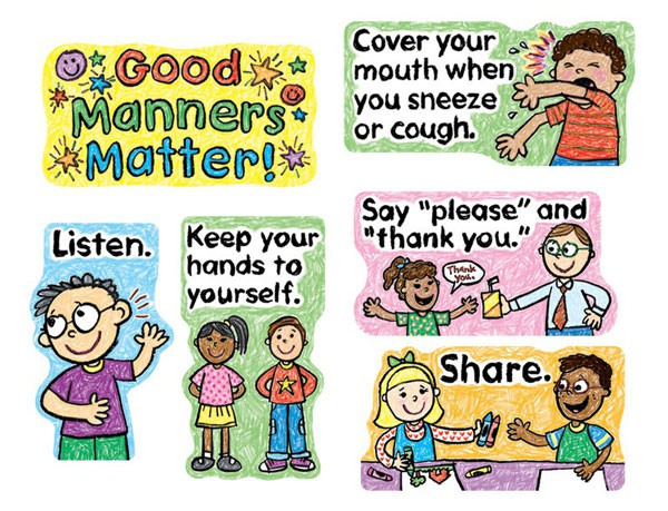 image MANNERS FOR TODDLERS